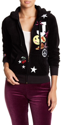 Juicy Couture Pop Robertson Hoodie $298 thestylecure.com