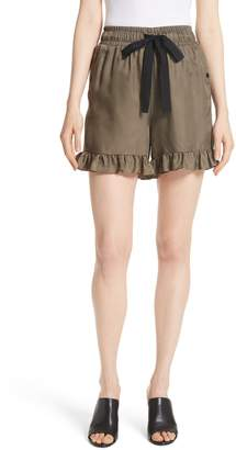 Cinq à Sept Tova Ruffle Hem Shorts