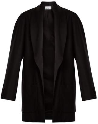 Raey Shawl Collar Wool Tux Jacket - Womens - Black
