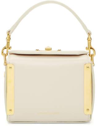 Alexander McQueen White Nano Box Bag