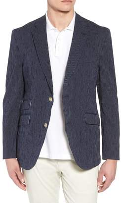 Kroon Sting AIM Classic Fit Stretch Stripe Cotton Sport Coat