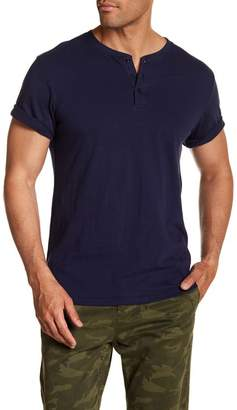 Public Opinion Short Sleeve Henley Shirt