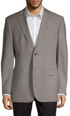 HUGO BOSS Regular-Fit Textured Wool Jacket