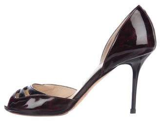 Jimmy Choo Patent Leather Sandals