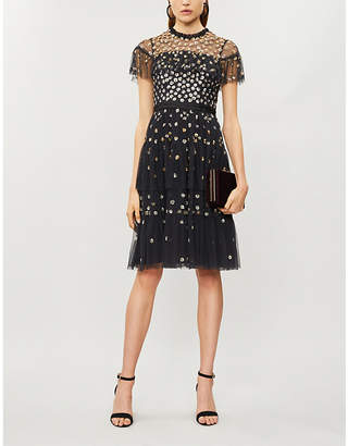NEEDLE AND THREAD Seraphine sequin-embellished tulle dress