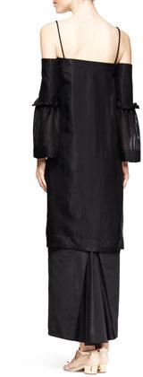 The Row Kiraka Off-Shoulder Long Dress