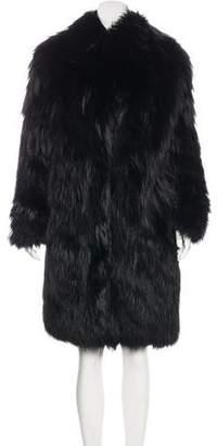 Lanvin Fox Fur Coat