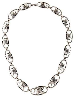 Georg Jensen 817A Flower Necklace