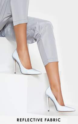 PrettyLittleThing Reflective Court Shoes
