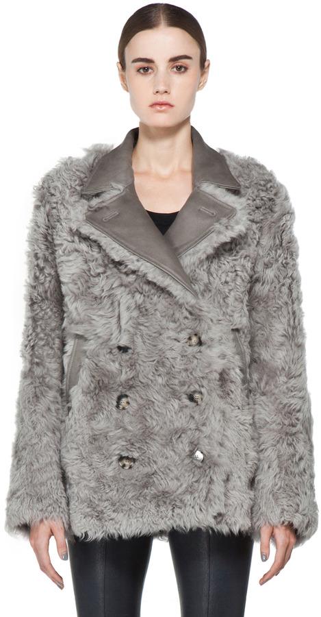 Acne Alison Coat in Grey