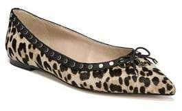 Sam Edelman Ralf Leopard Point Toe Flats