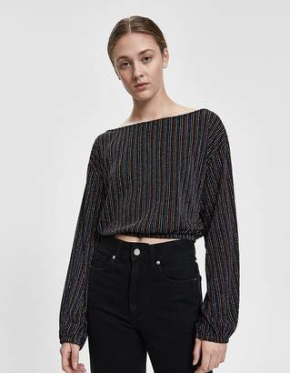 Farrow Adelle Sparkle Stripe Crop Top