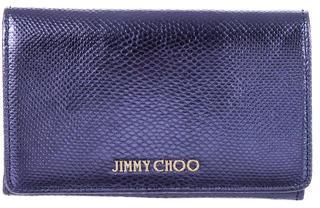 Jimmy ChooJimmy Choo Metallic Compact Wallet