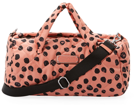 Marc By Marc Jacobs Crosby Quilted Deelite Dot Nylon Duffle 32