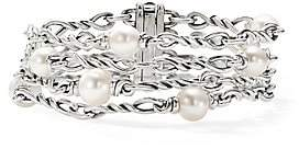 David Yurman Women's Continuance Chain & Pearl Bracelet