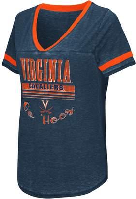 Women's Campus Heritage Virginia Cavaliers Gunther Jersey Tee