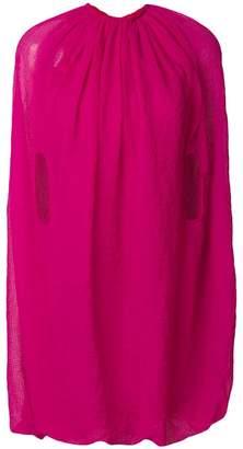 Helmut Lang balloon dress
