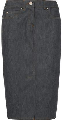 Max Mara Stretch-denim Pencil Skirt