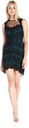 Greylin Women's Claire Lace Sleeveless Dress