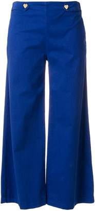 Love Moschino wide leg cropped pants