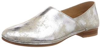 TEN POINTS Women's New Toulouse Loafers, (Silver 214)