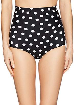 Smart & Sexy Smart+Sexy Women's High Waisted Bikini Bottom