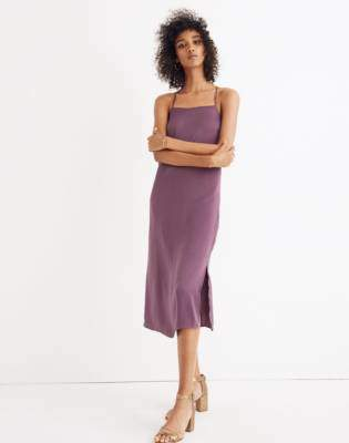 Madewell Apron Slip Dress