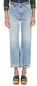 RE/DONE Women's Leandra Crop Flared Levi's® Jeans - Leandra