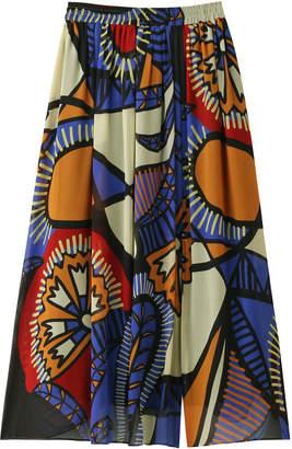 Reir (レイール) - レイール(ミズギ) シルックArt African マキシスカート