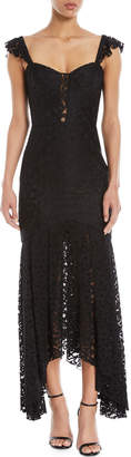 Milly Melissa Stretch Lace Sweetheart Gown