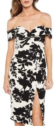 Bardot Botanica Off the Shoulder Dress