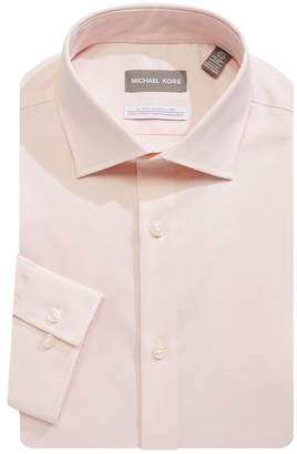 MICHAEL Michael Kors Slim Fit Cotton-Blend Dress Shirt