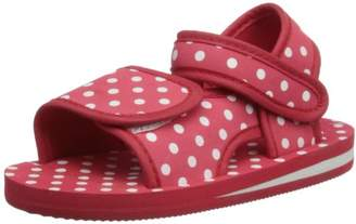 Playshoes Girls Dots Sandals 171785 9 UK Child, 26 EU Regular