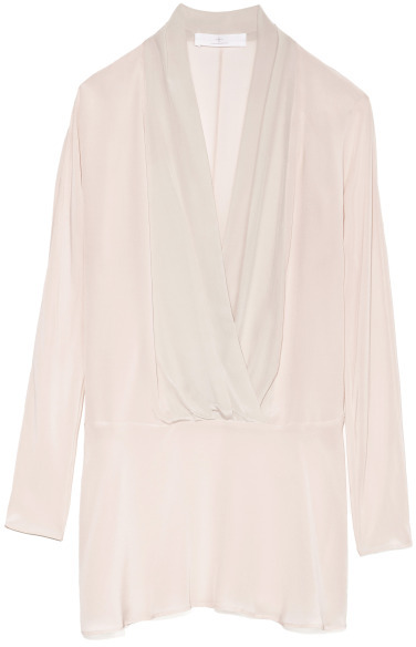 Thakoon Preorder Long Sleeve Shawl Collar Dress