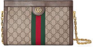 ae94107238280a Gucci Linea Dragoni Small GG Supreme Canvas Chain Shoulder Bag