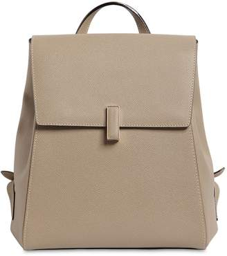 Valextra Iside Grained Leather Backpack