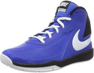 Nike Team Hustle D 7 (GS) Game Royal/White Black Basketball Shoe 6.5 Kids US