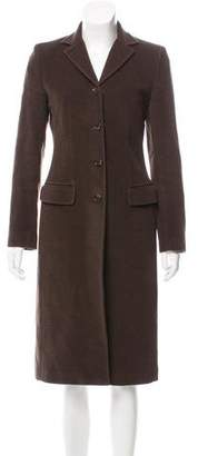 Dolce & Gabbana Wool Chesterfield Coat