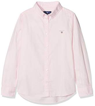 Gant Girl's TG. Archive Oxford B.D Sports Shirt,(Manufacturer Size: 122/128)