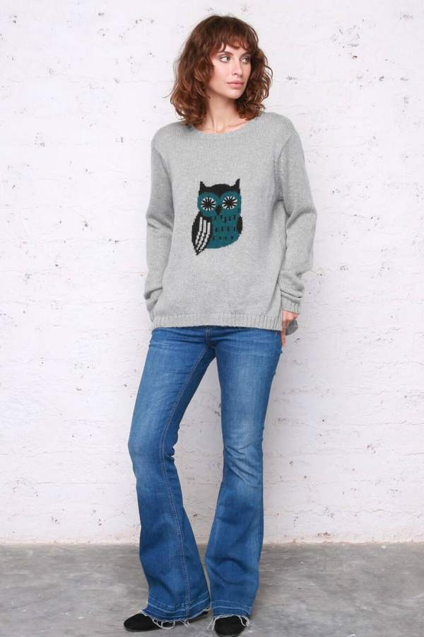 "Owl""sweater"