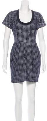 Vena Cava Gingham Mini Dress