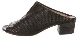 Marsèll Woven Leather Slide Sandals