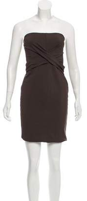 Gucci Strapless Jersey Dress