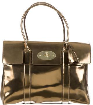 Mulberry Mirror Metallic Bayswater Bag $625 thestylecure.com