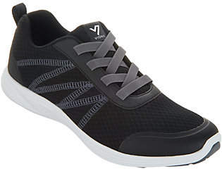 Vionic Mesh Gored-Lace Sneakers - Shay