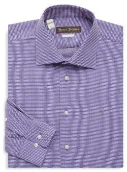 Hickey Freeman Two-Tone Cotton Dress Shirt