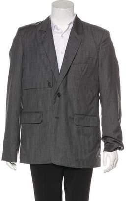 Kris Van Assche Striped Wool Blazer