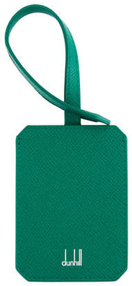 Dunhill Cadogan Leather Luggage Tag