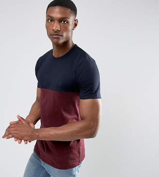 French Connection TALL Cut and Sew Pannel T-Shirt
