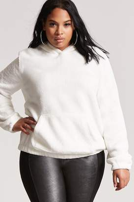 Forever 21 Plus Size Plush Hoodie